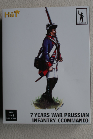 Hat 1/32 HAT9400 Prussian Infantry Command (7 Years War)